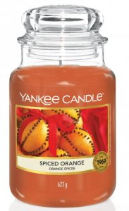 Świeca Yankee Candle Spiced Orange duża