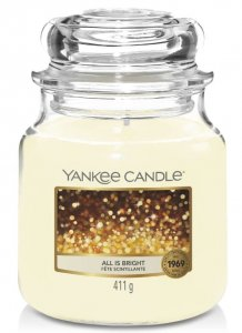 Yankee Candle All is bright- średnia
